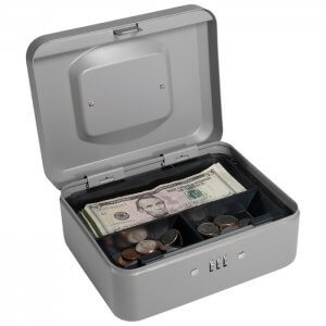 Small Cash Box with Combination Lock by Barska