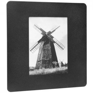 "4""x6"" Picture Wall Mount Photo Frame Cabinet"