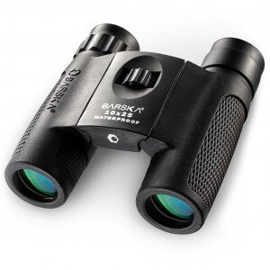 10x25mm WP Compact Blackhawk Binoculars by Barska