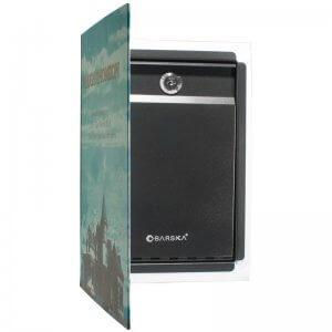Dual Book Lock Box with Key Lock