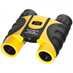 12x25mm Colorado Yellow Waterproof Compact Binoculars by Barska