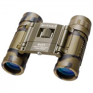 8x21mm Lucid View Compact Camo Binoculars by Barska