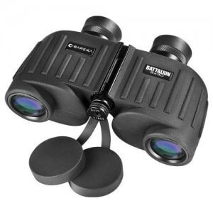 8x30mm WP Battalion Range Finding Reticle Binoculars by Barska
