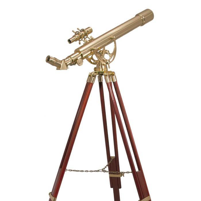 70060 28 Power Anchormaster Classic Brass Telescope W