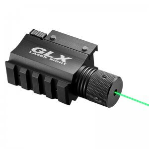 GLX Green Laser w/Built-In Mount & Rail by Barska