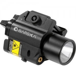 Green Laser with 200 Lumen Flashlight By Barska