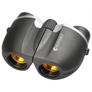10x21mm Blueline Compact Ruby Lens Binoculars by Barska