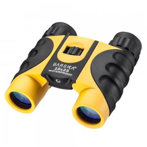 10x25mm Colorado Yellow Waterproof Compact Binoculars by Barska