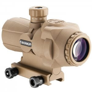 3x30mm AR-X PRO Prism Scope by Barska (Tan) Flat Dark Earth By Barska