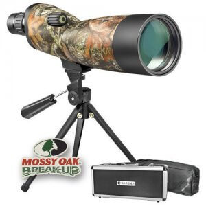 20-60x60mm WP Blackhawk Mossy Oak® Break-Up® Camo Spotting Scope Straight By Barska