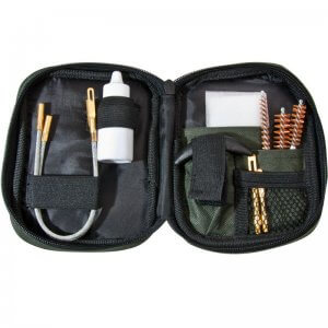 Pistol Cleaning Kit w/ Flexible Rod and Pouch