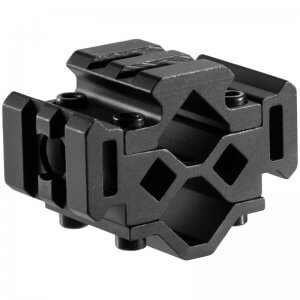Double Rifle Barrel Mount - Tri-Rail - 2 Sections