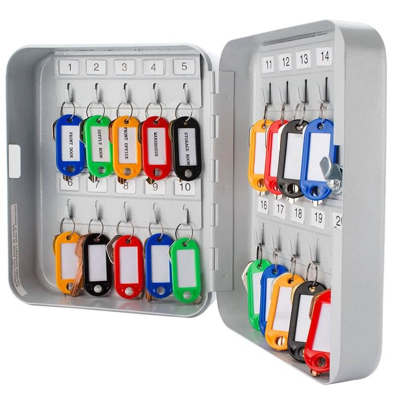 Elegant Dual Lock Key Cabinet
