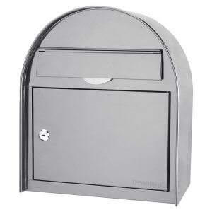 Locking Wall Mount Mailbox (Large) by Barska