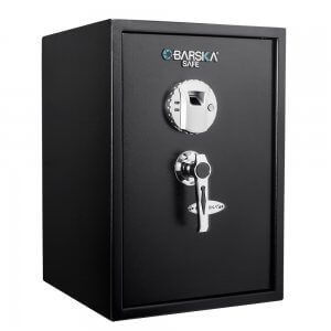 BARSKA Large Biometric Security Safe with Fingerprint Lock AX11650
