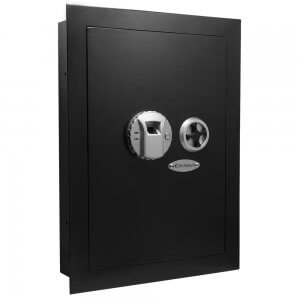 Biometric Wall Safe  Left Opening by Barska