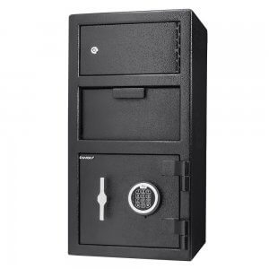 BARSKA 0.72/0.78 Cubic Ft Locker Depository Safe AX13310