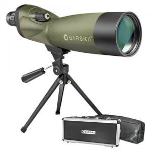 20-60x70mm WP Blackhawk Spotting Scope Straight By Barska