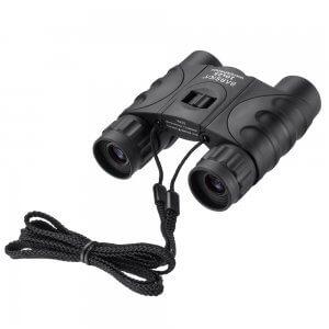 10x25mm Black Waterproof Compact Binoculars by Barska
