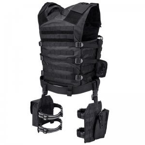Loaded Gear VX-100 Tactical Vest and Leg Platforms