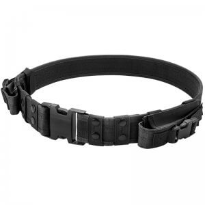 Loaded Gear CX-600 Tactical Belt (Black) By Barska