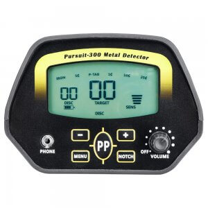 Winbest Pursuit-300 Metal Detector By Barska