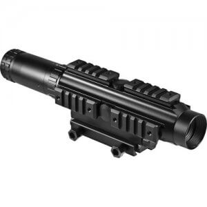 1-4x24 IR Electro Sight Multi-Rail Tactical Rifle Scope By Barska