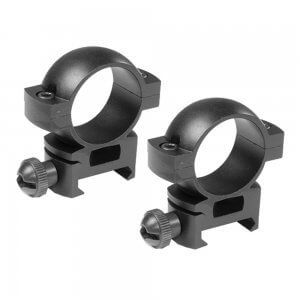 "1"" Low w/Peep Sight Weaver Style Rings"