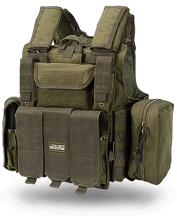 Green Tactical Vests